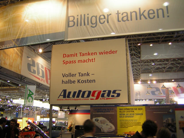 AMI 2006: Autogas-Stand