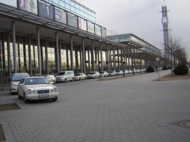 Taxistand Messe Leipzig